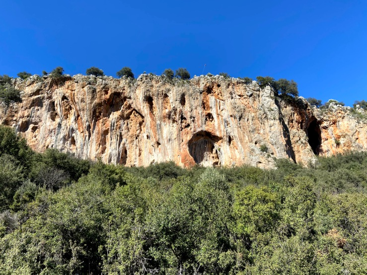 Sarkit sector with the two caves