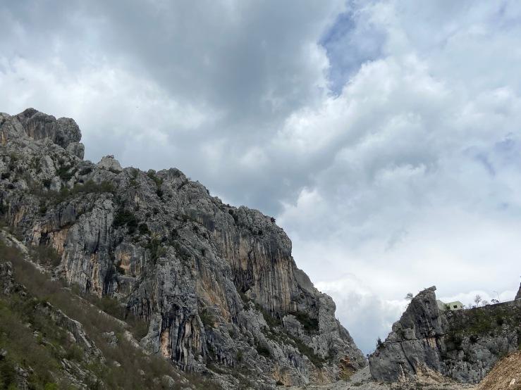 Large craggy mass